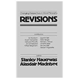 "Book ""Revisions"" by Stanley Hauerwas and Alisdair MacIntyre"